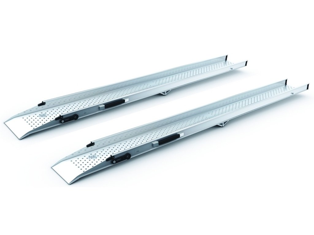 Nájezdová rampa pro vozíčkáře, skládací, dural, délka 2,3m