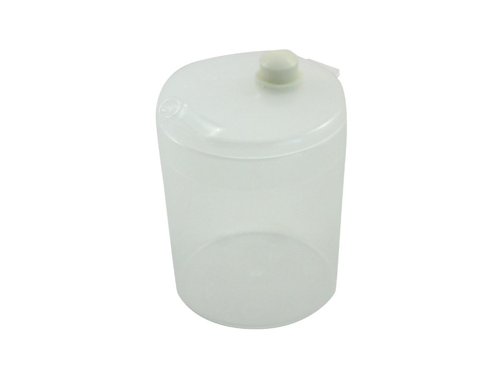 Plastový pohárek s víčkem s ventilem a náustkem - DOPRODEJ