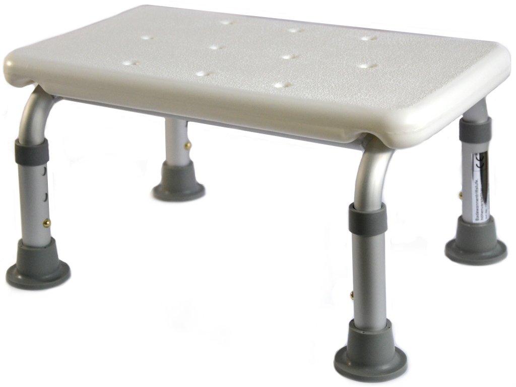 Stolička k vaně s nastavitelnou výškou 21 - 26 cm