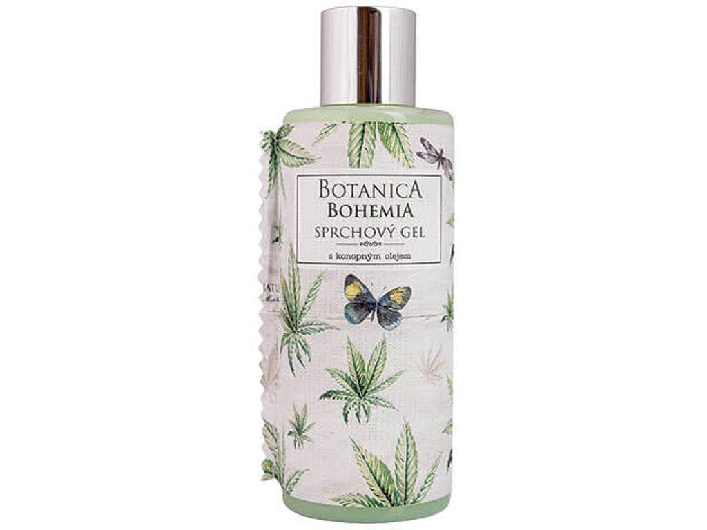 botanica sprchovy gel konopi BC190019