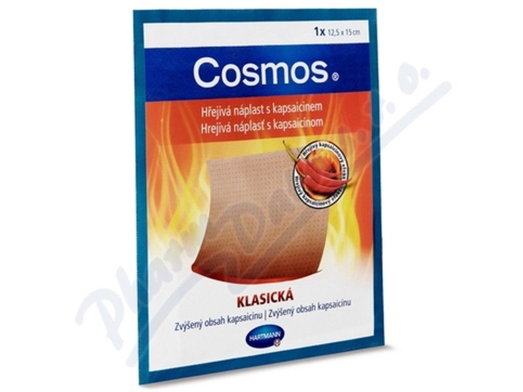 Cosmos - hřejivá náplast s kapsaicinem, klasická,12,5 x 15 cm, 1 ks