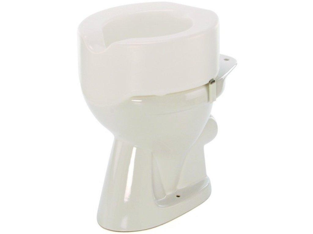 Nástavec na WC plastový nasazovací, výška 15 cm