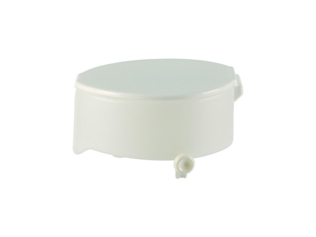 Nástavec na WC plastový s poklopem a fix. šrouby, výška 15 cm