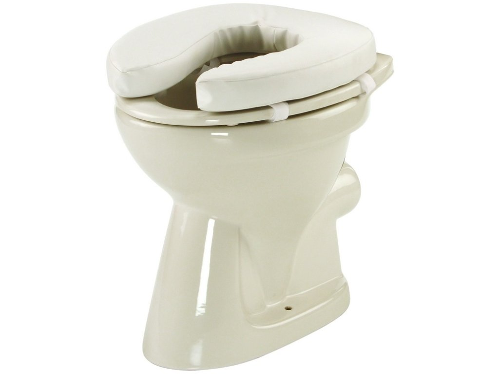 Nástavec na WC pro vozíčkáře, výška 5 cm
