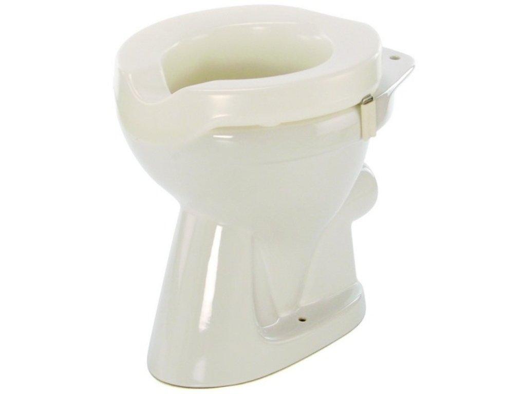 Nástavec na WC plastový nasazovací, výška 5 cm