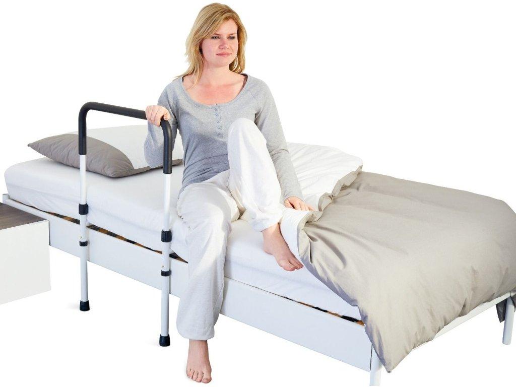 Pomocné madlo do postele s opěrkami - VRÁCENÉ