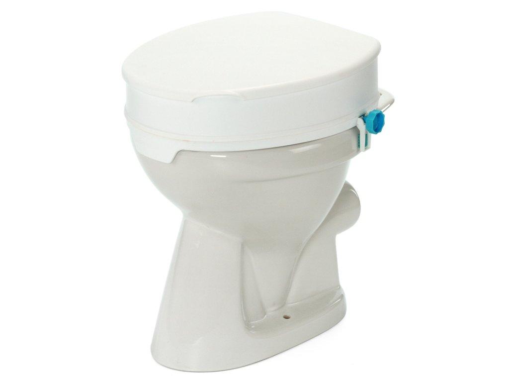 Nástavec na WC 10 cm s fixací a poklopem