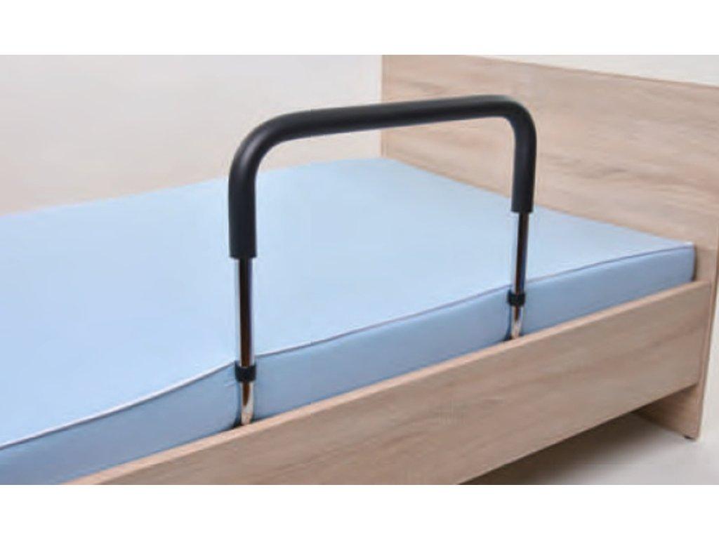 Pomocné madlo do postele pro snadnější vstávání s nastavitelnou výškou 42 – 53 cm