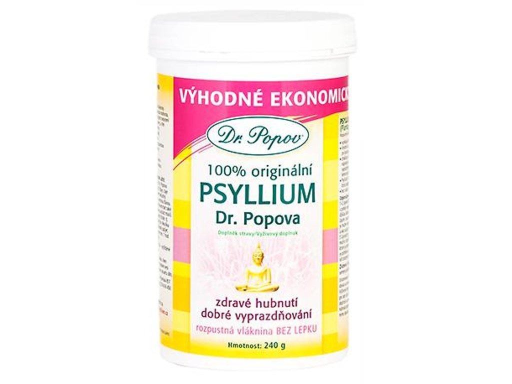 Dr. Popov - Vláknina Psyllium DÓZA, 240 g