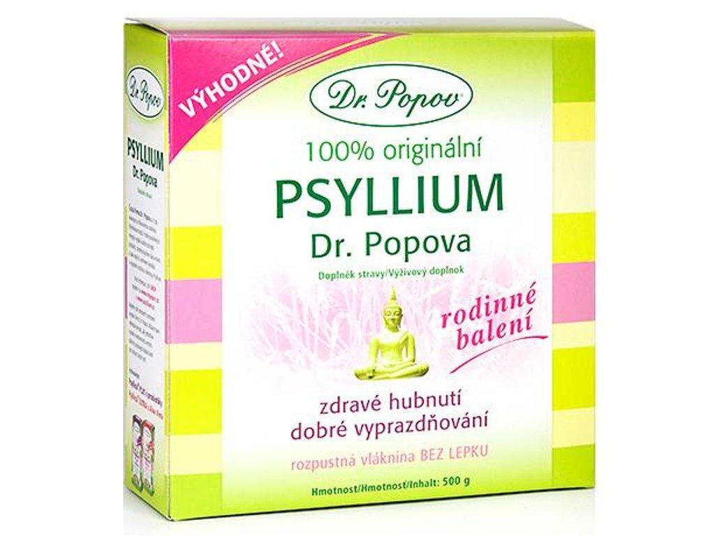 Dr. Popov - Vláknina Psyllium, 500 g
