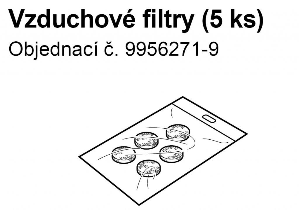 Vzduchový filtr (sada) - C28,C28P, C29,C900