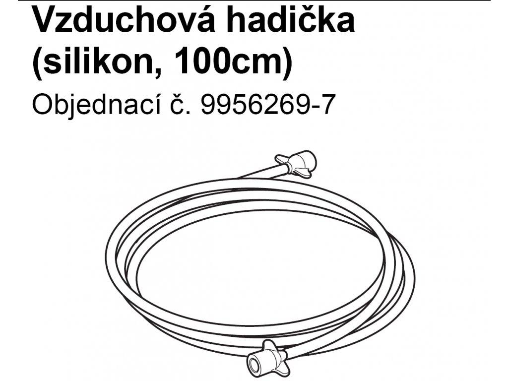 Inhalační hadice SEBS, 100 cm - C801,C801KD,C28,C28P, C29,C30