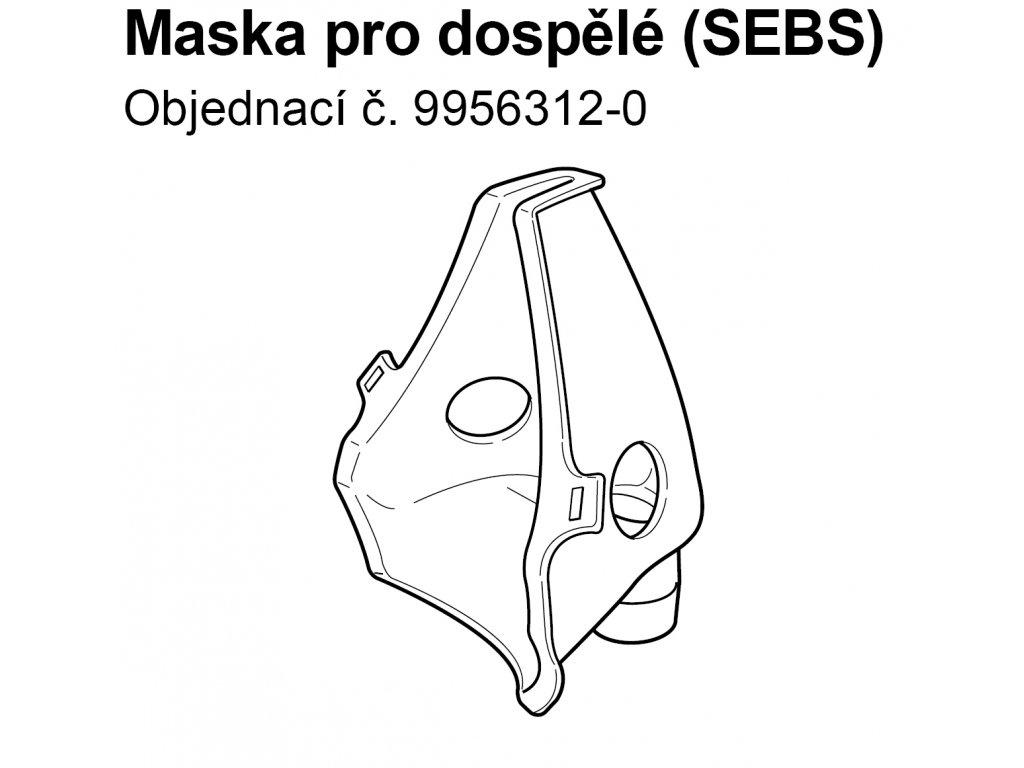Maska SEBS pro dospělé - C803,C802, C801,C801KD, C28, C28P, C29, C30, C900,U17,U12,U07