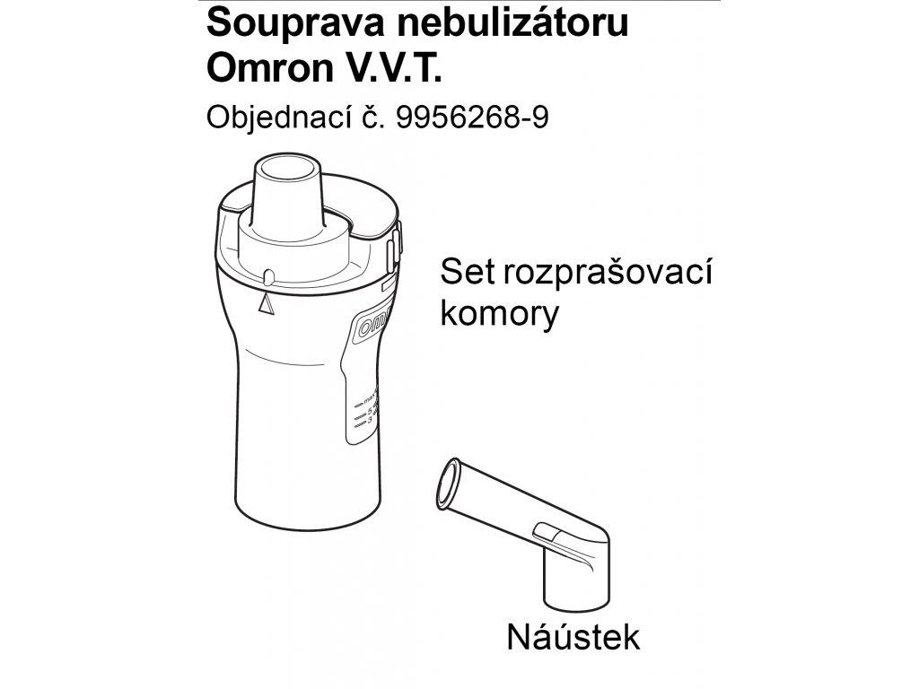 Set (rozprašovací komory vč.náustku) - C28, C29, C30