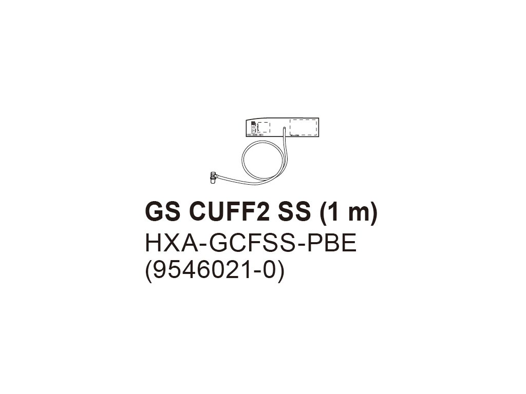 Manžeta GS2-SS(1) pro Omron 1120 a 1320