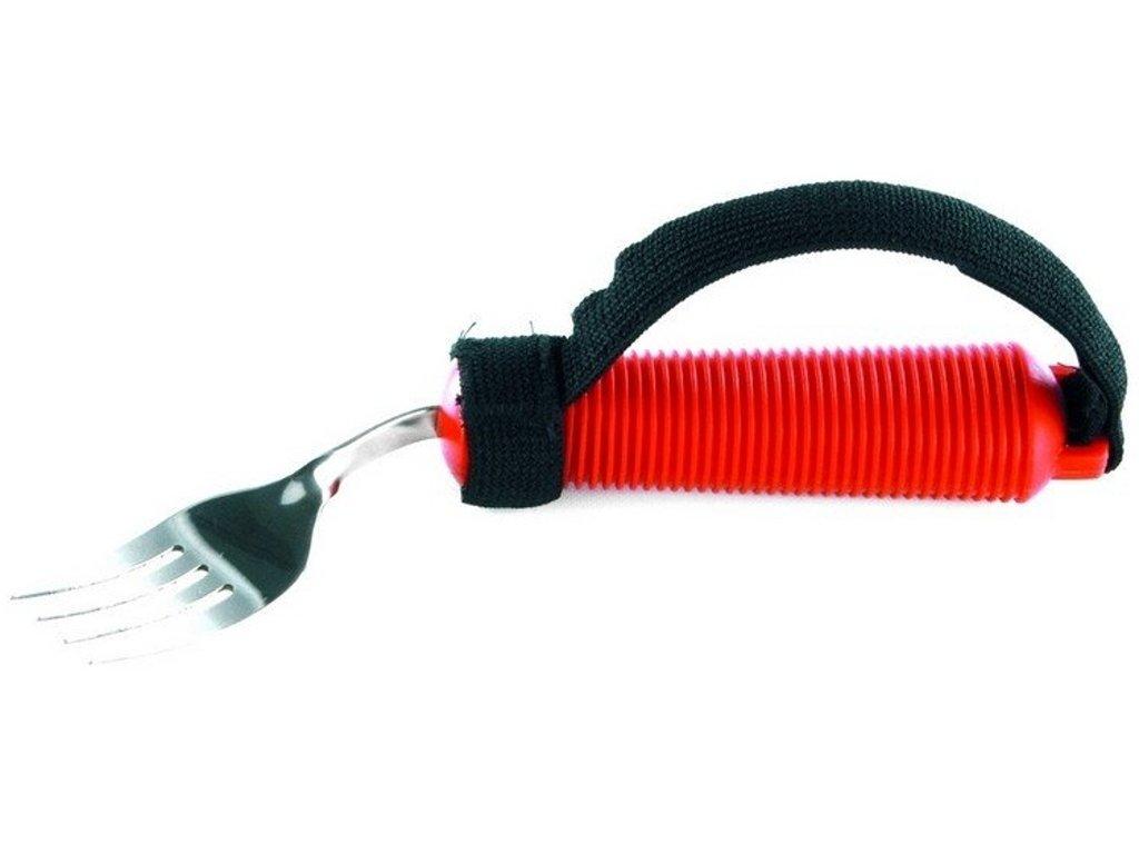 Fixační pásek na příbory připínací na ruku se suchým zipem