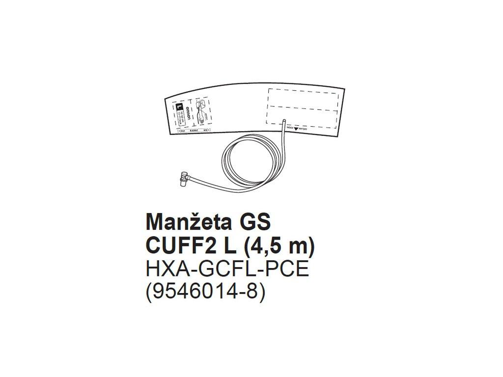 Manžeta GS2-L(4,5) pro Omron 1120 a 1320