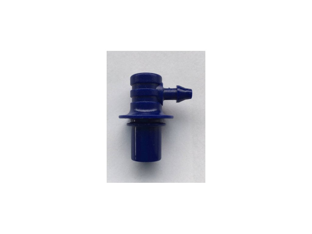 AP8 Vzduch.konektor (modrý), pro modely nové řady M7,M6,M4 a M3 k černým manžetám Intelli IC a Easy EC*