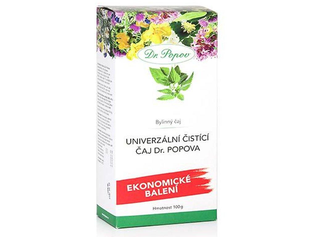 Dr. Popov - Univerzální čistící čaj, sypaný, (50 g, 100 g, 220 g)