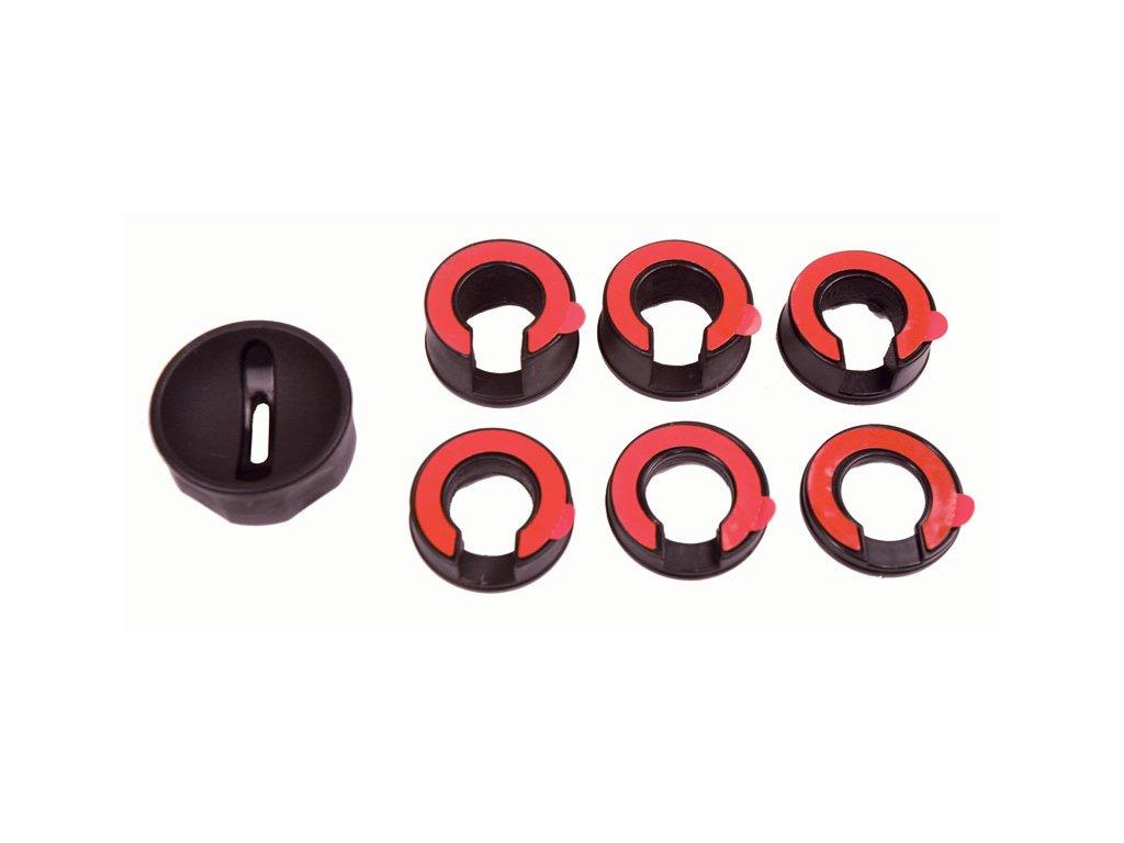 Pomocný kroužek pro snadné otočení klíčem, 7 ks