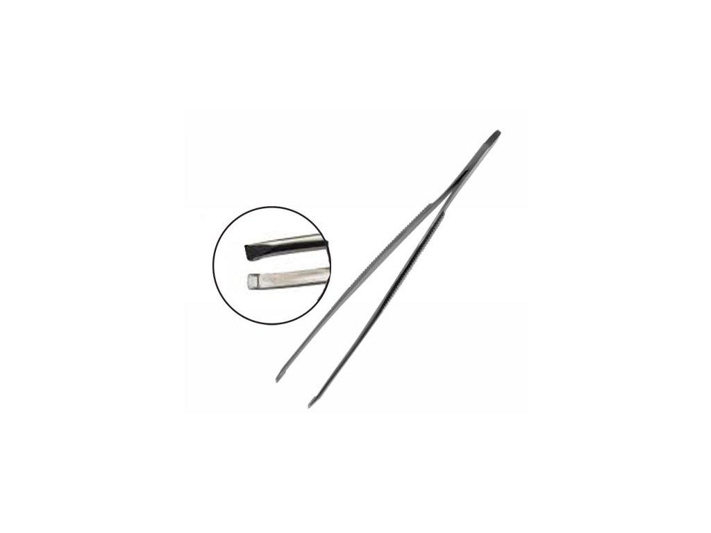 SI-016 Pinzeta kosmetická, rovná hrana 9 cm