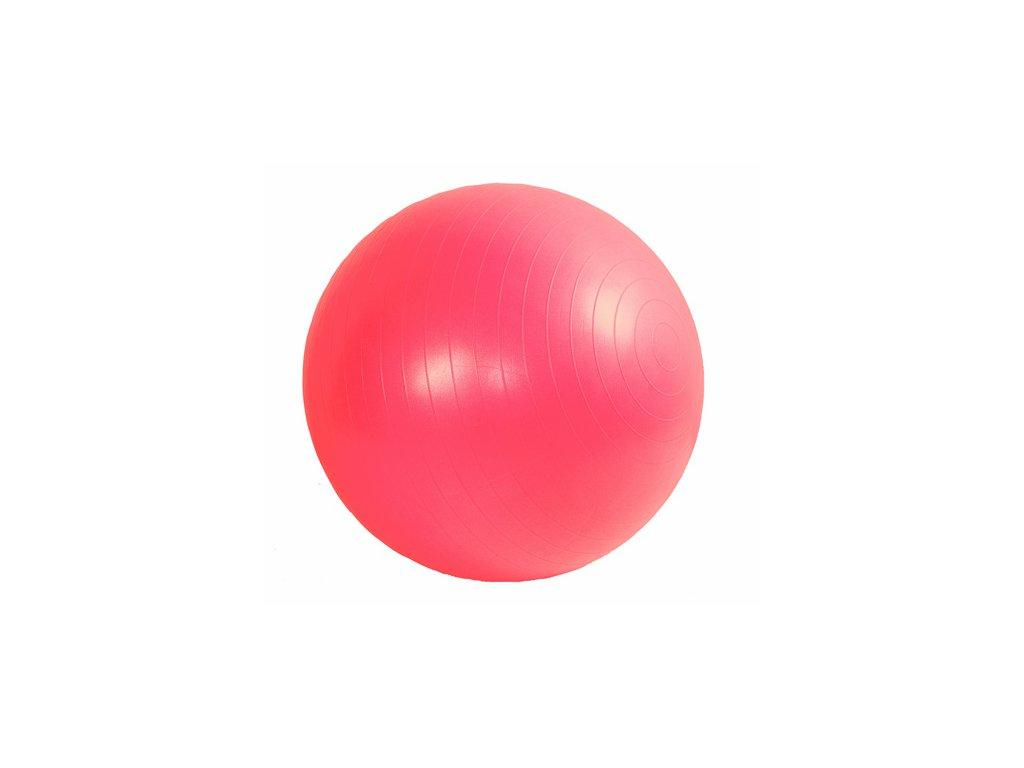 Míč GYMY ABS zesílený - červený, průměr 65 cm