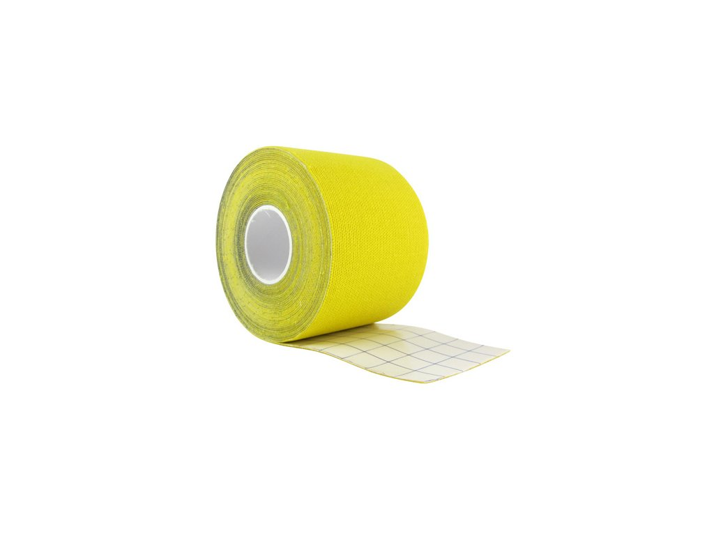 Trixline tape 5cm x 5m žlutá