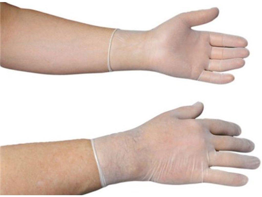 Jednorázové latexové rukavice sterilní, pudrované, 2 ks v balení, vel. 9  OPRAVDU SKLADEM