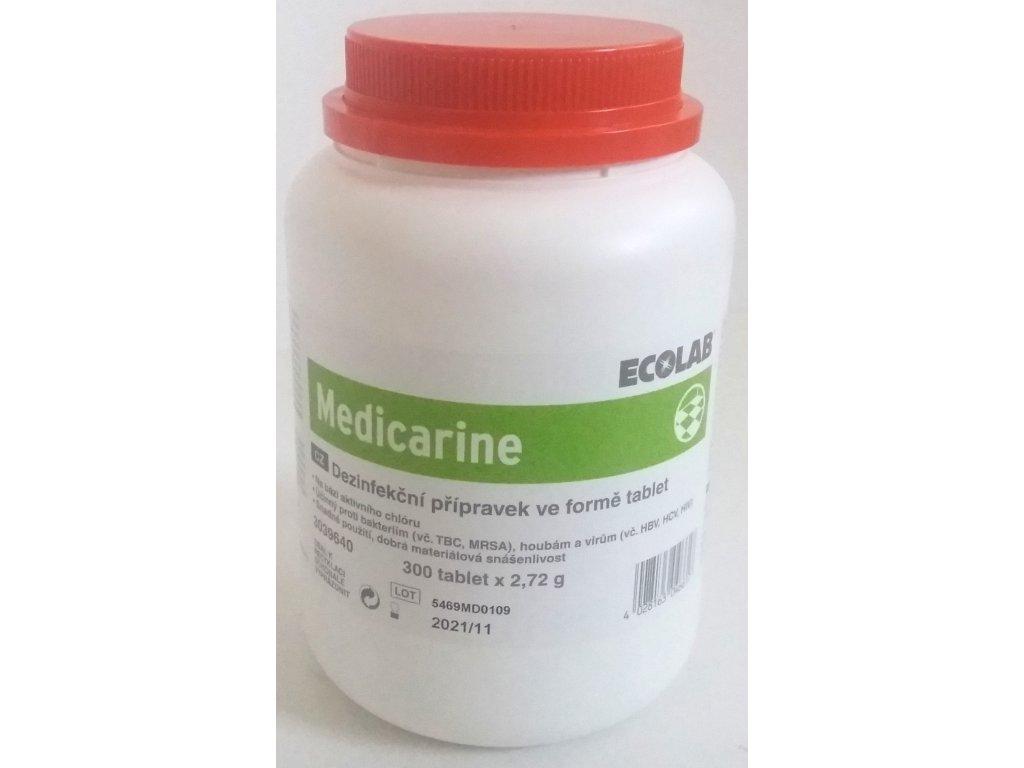 Medicarine - dezinfekční přípravek na bázi aktivního chlóru, 300 tablet