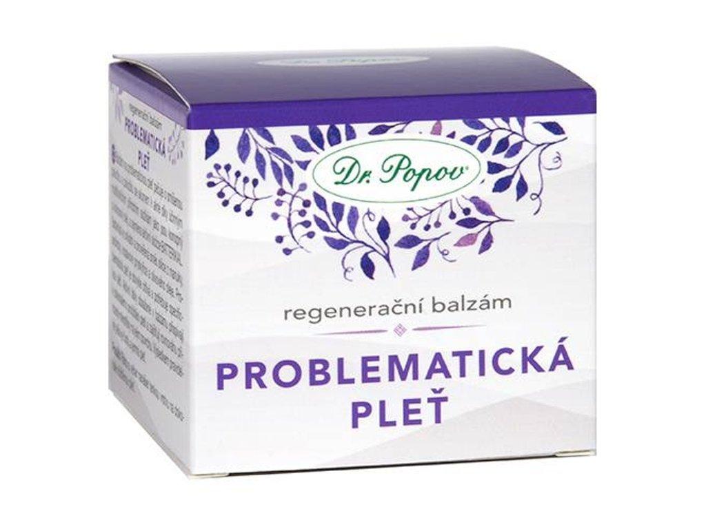 Dr. Popov -  Regenerační balzám PROBLEMATICKÁ PLEŤ, 50ml