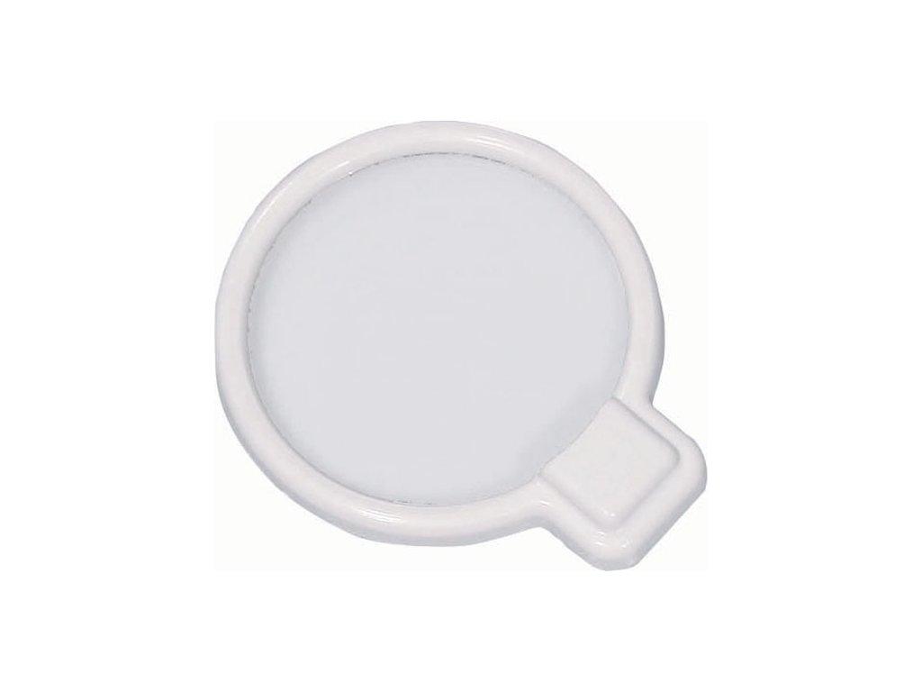 Sada plastových víček se silikonovou membránou na nádoby s potravinami, 4 ks
