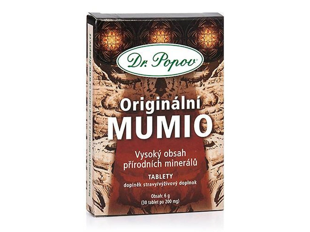 Dr. Popov - MUMIO, 30 tablet