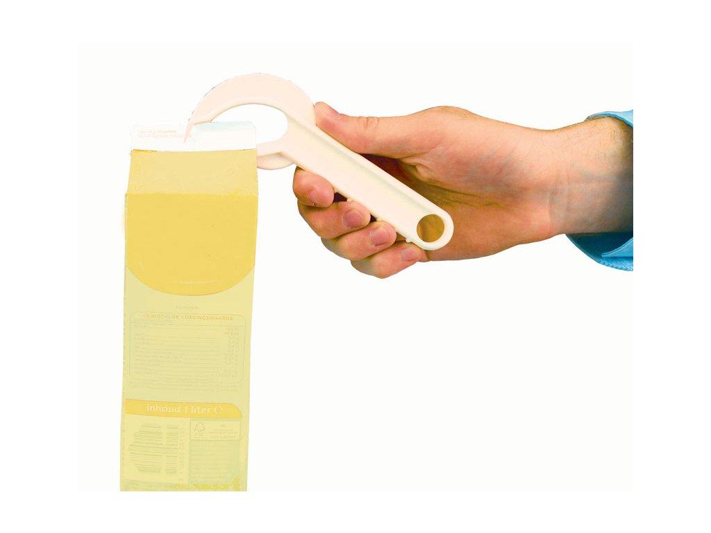 Otvírák na kartonové krabice - na mléko, šlehačku