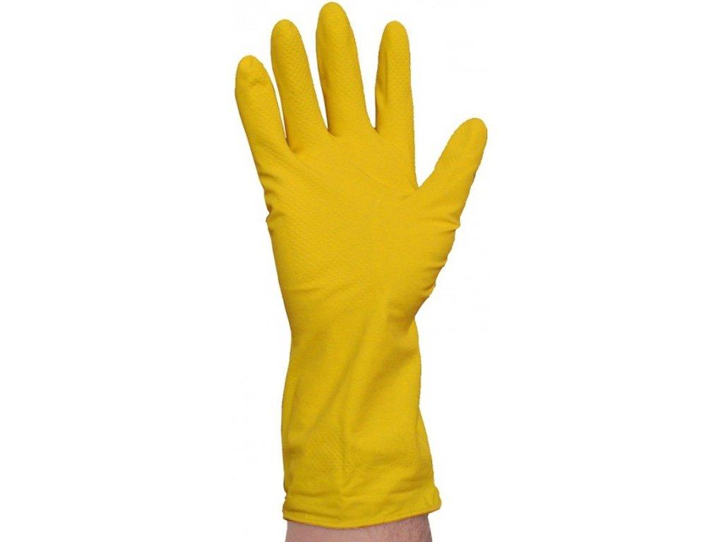 Tenké latexové rukavice pro domácnost, 2 ks v balení, vel. S - 6 - 7