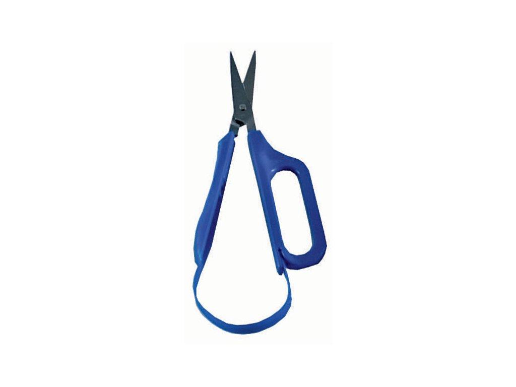 Nůžky pro seniory, s automatickým rozevíráním, s ost. hroty, pro praváky, 4,5cm