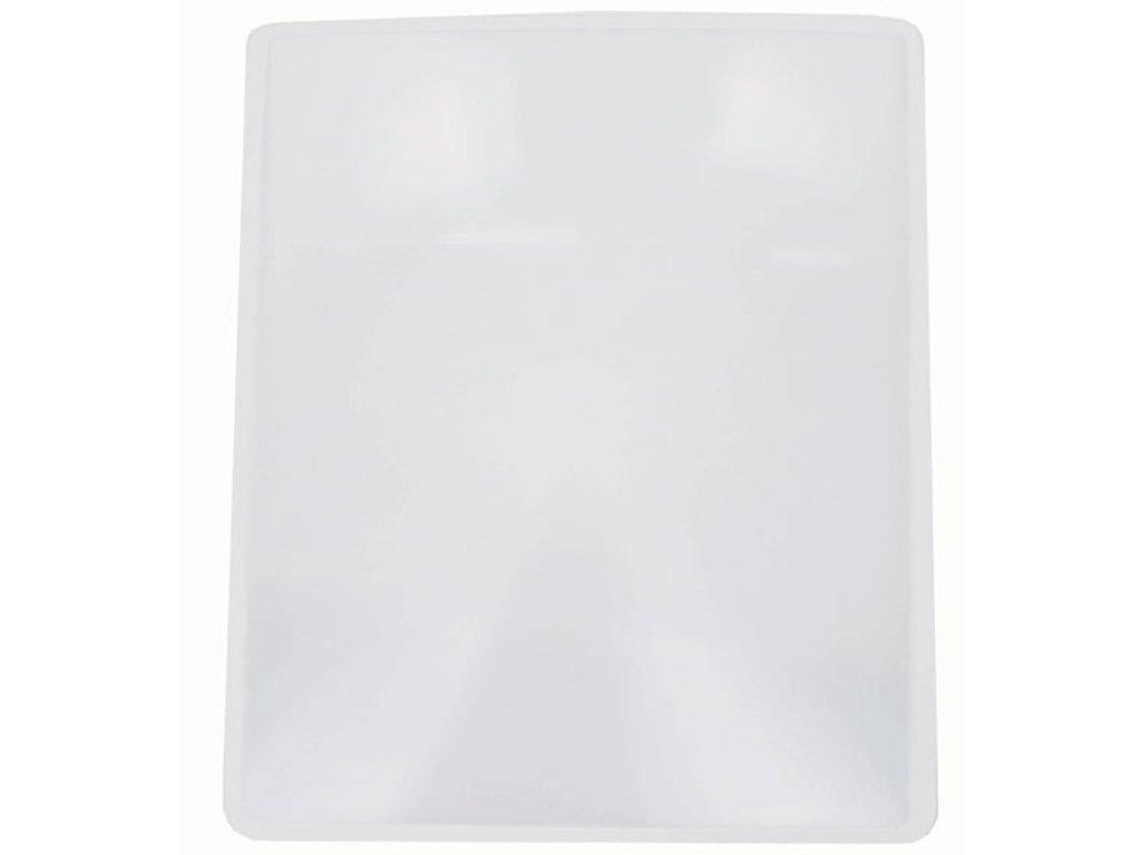 Lupa - pružná karta, rozměr 22 x 28 cm, 2x zvětšení