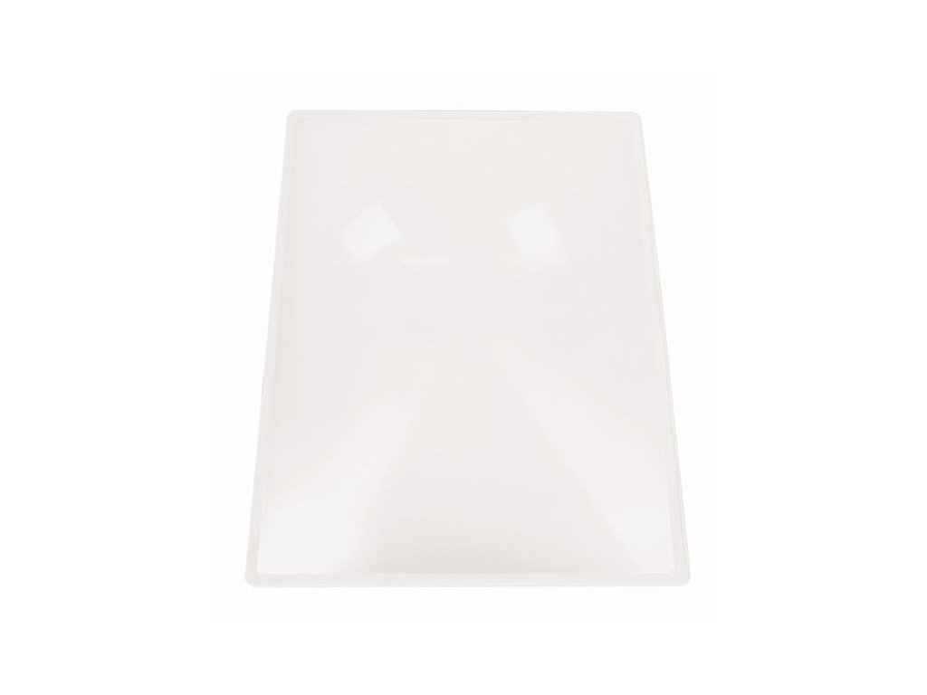 Lupa - nepružná karta 22 x 28 cm, 2x zvětšení