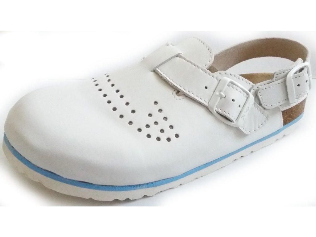 Trento - sandály rovné perforované - vel. 41