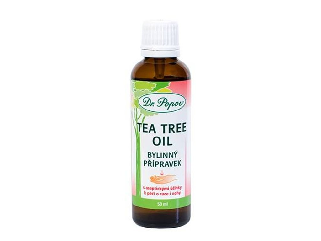 Dr. Popov - Tea Tree Oil dezinfekce rukou - DOPRODEJ