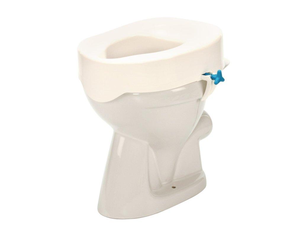 Nástavec na WC s fixací (výška: 7/10/13/15 cm)