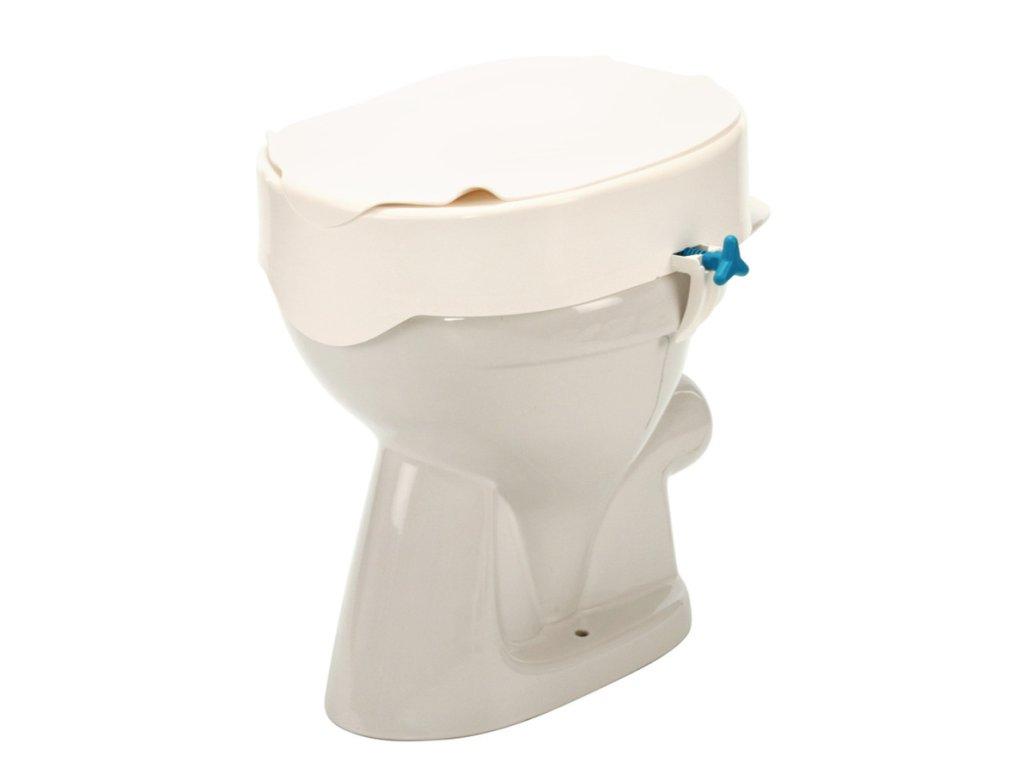 Nástavec na WC s poklopem (výška: 7/10/13/15 cm)