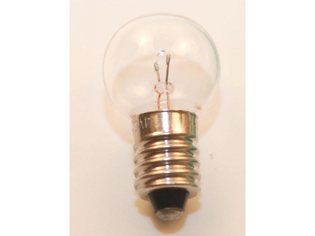 Žárovka halogenová 4V 0,55A k lupovým rukojetím
