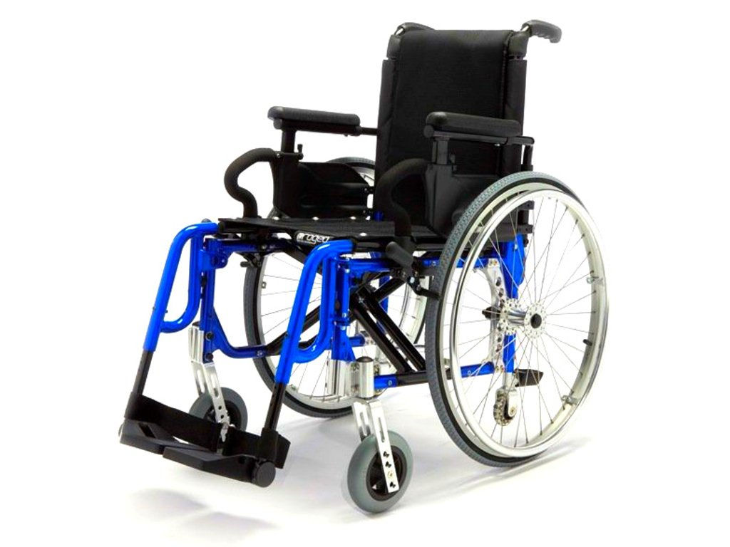 Vozík mechanický odlehčený - BASIC LIGHT PLUS BLUE