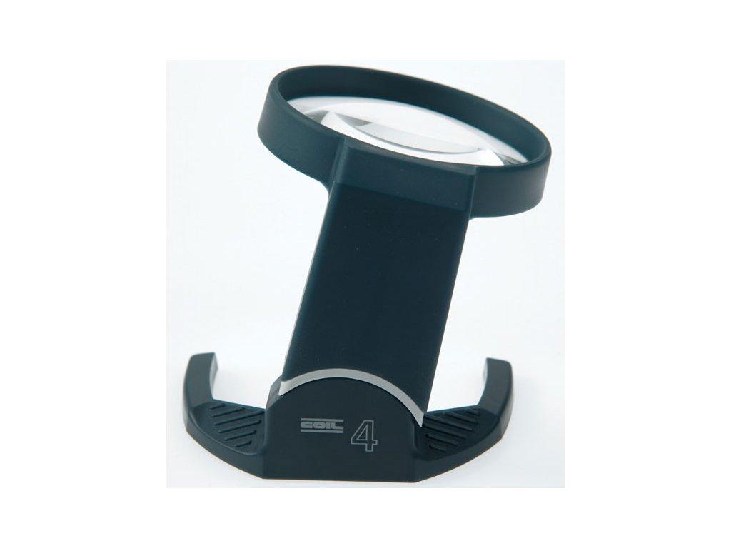 Lupa příložní s pohyblivým kloubem, průměr 53 mm, zvětšení 4x