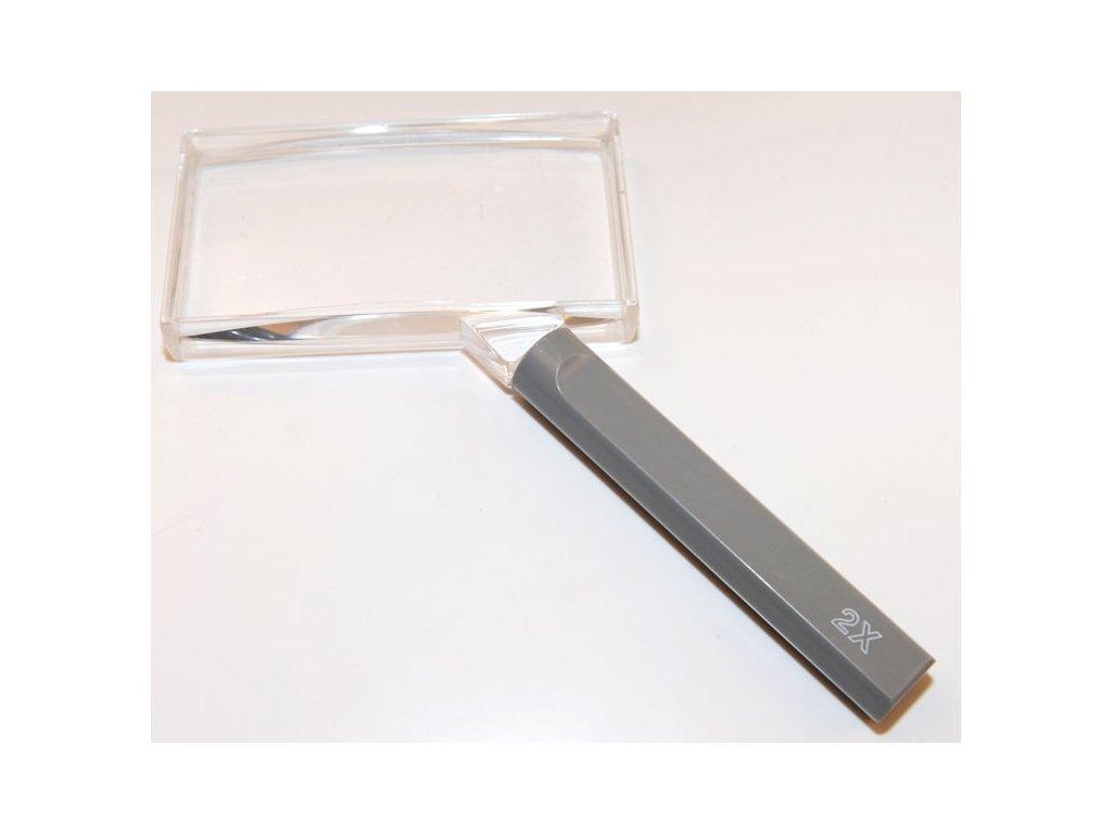 Lupa čtenářská, Coil, 100x50mm, zvětšení 2x