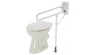 Madlo na WC sklopné s nastavitelnou nohou