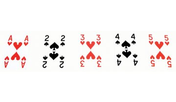 Hrací karty s velkými symboly pro seniory