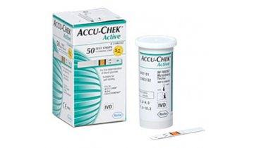Testovací proužky do glukometru Accu-Chek Active, 50 ks