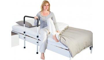 Pomocné madlo do postele s opěrkami