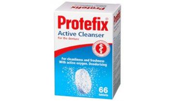 Protefix - aktivní čistící tablety pro zubní protézy, 66 ks